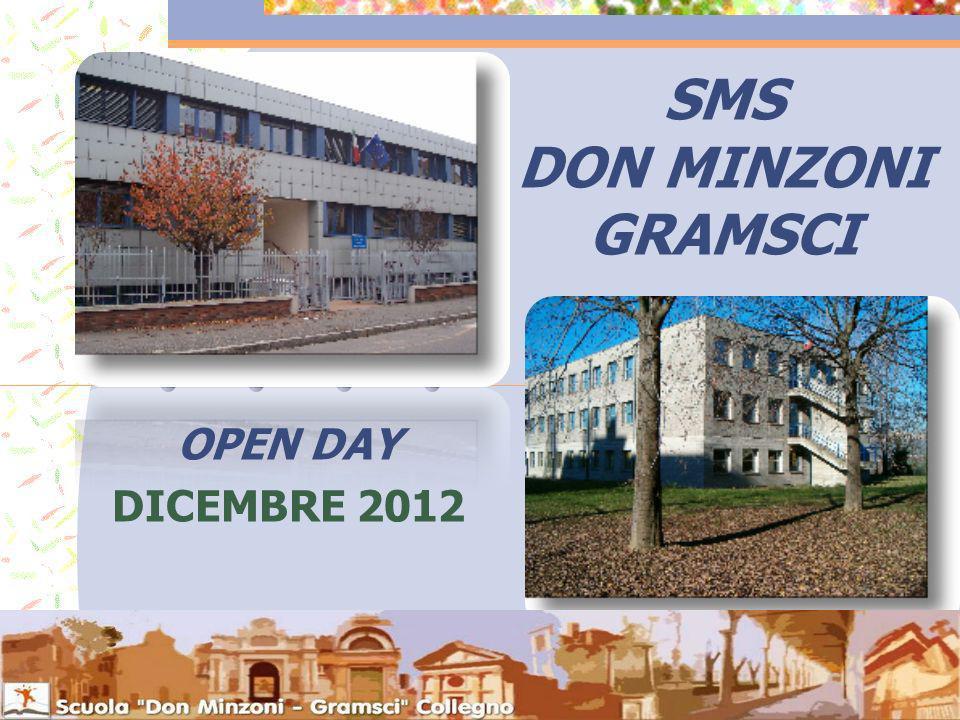 SMS DON MINZONI GRAMSCI OPEN DAY DICEMBRE 2012