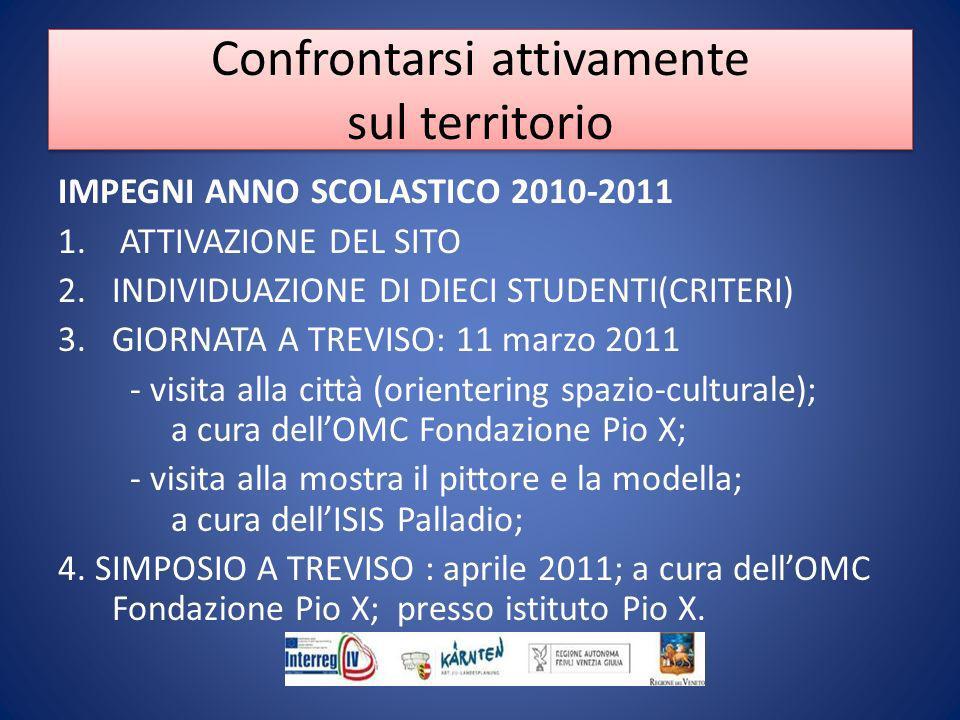 IMPEGNI ANNO SCOLASTICO 2010-2011 1.