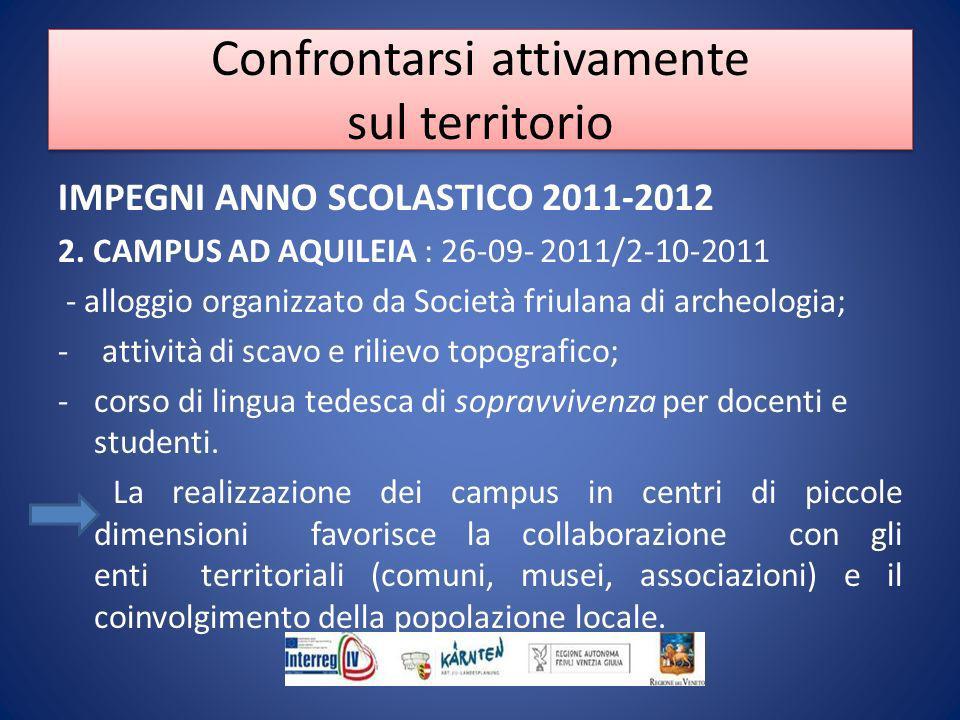 IMPEGNI ANNO SCOLASTICO 2011-2012 2.