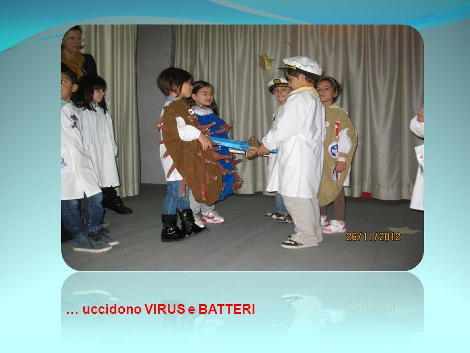 … uccidono VIRUS e BATTERI