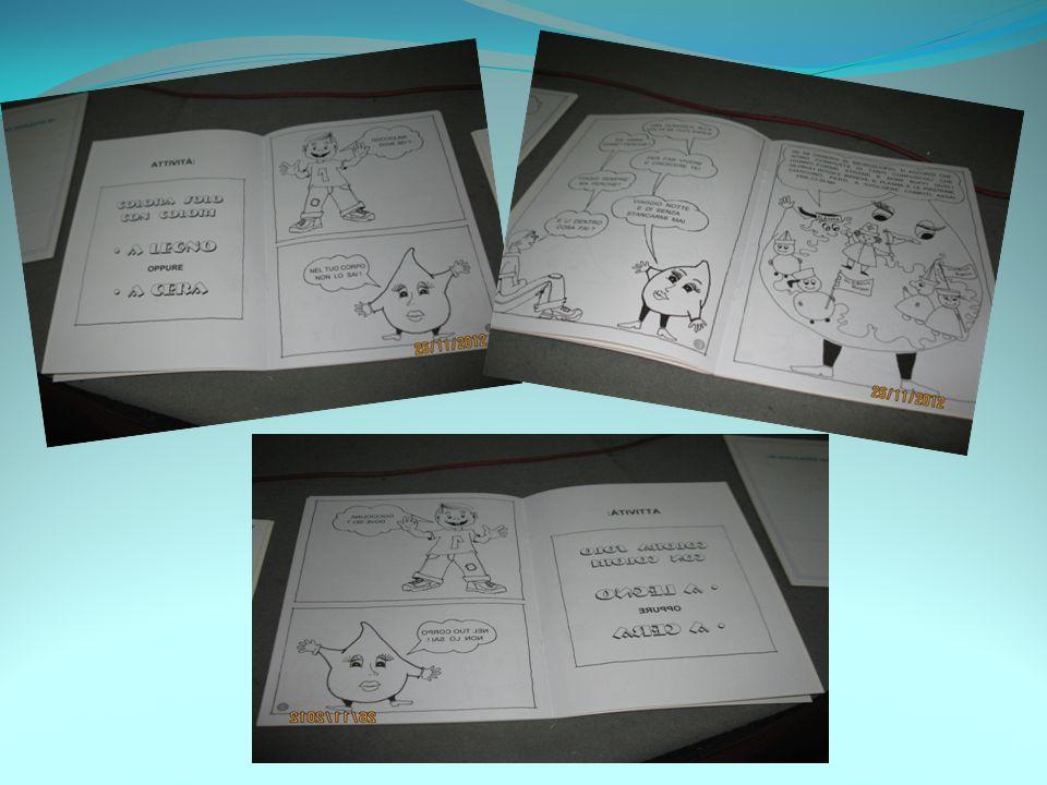 … le vignette da colorare, disegnate dal Sig.