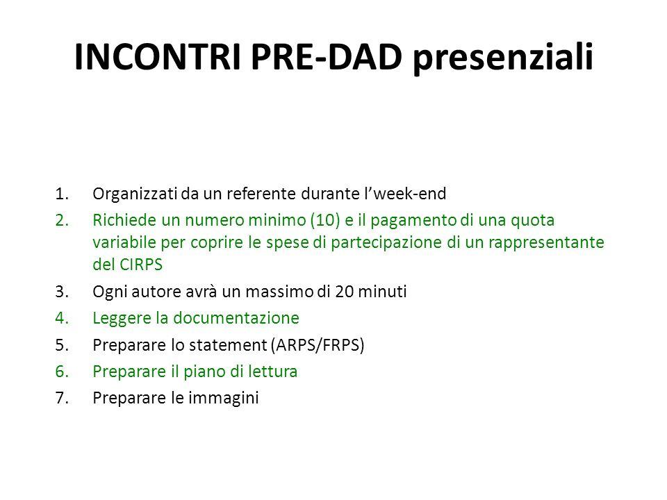 1.Organizzati da un referente durante lweek-end 2.Richiede un numero minimo (10) e il pagamento di una quota variabile per coprire le spese di parteci