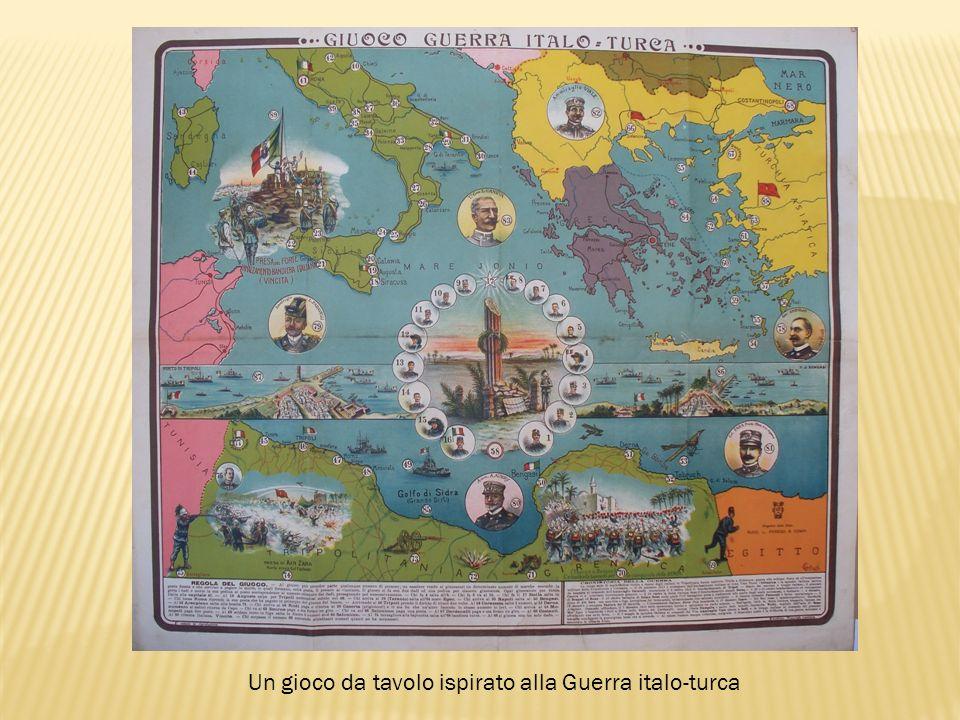 Un gioco da tavolo ispirato alla Guerra italo-turca