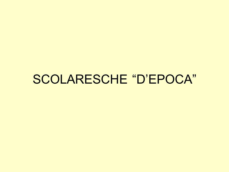 SCOLARESCHE DEPOCA