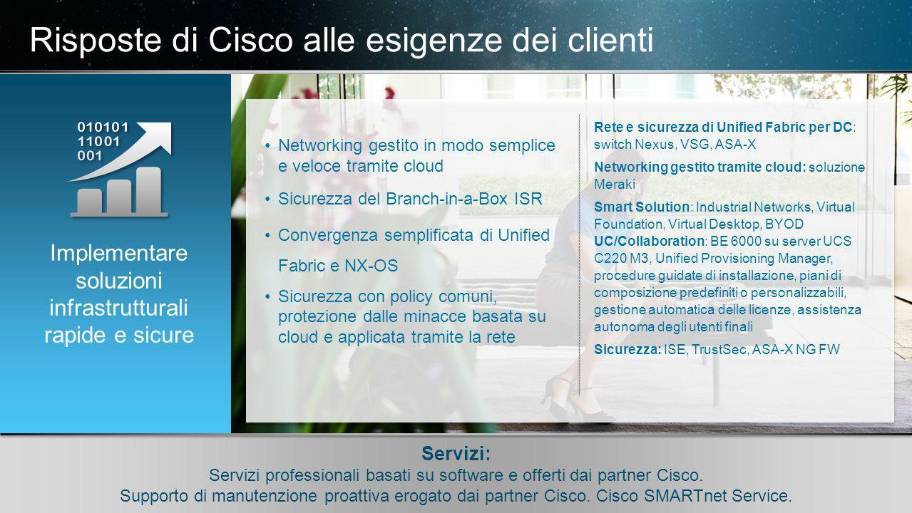 © 2010 Cisco e/o i relativi affiliati. Tutti i diritti riservati.