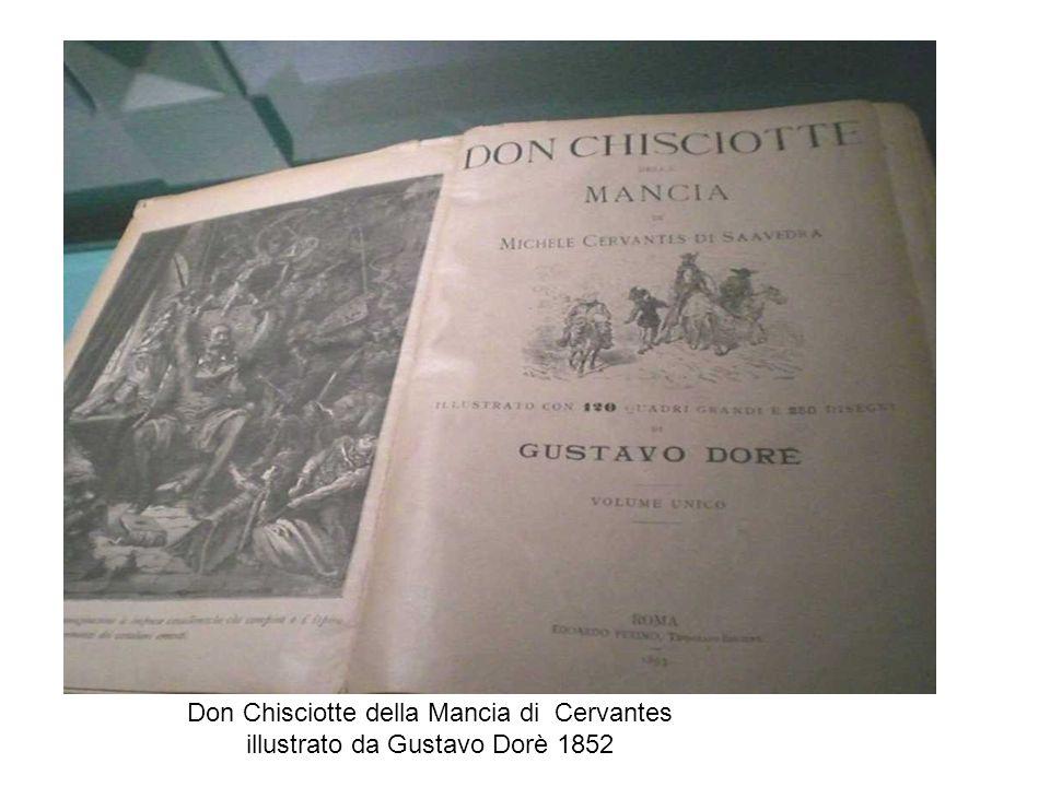Don Chisciotte della Mancia di Cervantes illustrato da Gustavo Dorè 1852