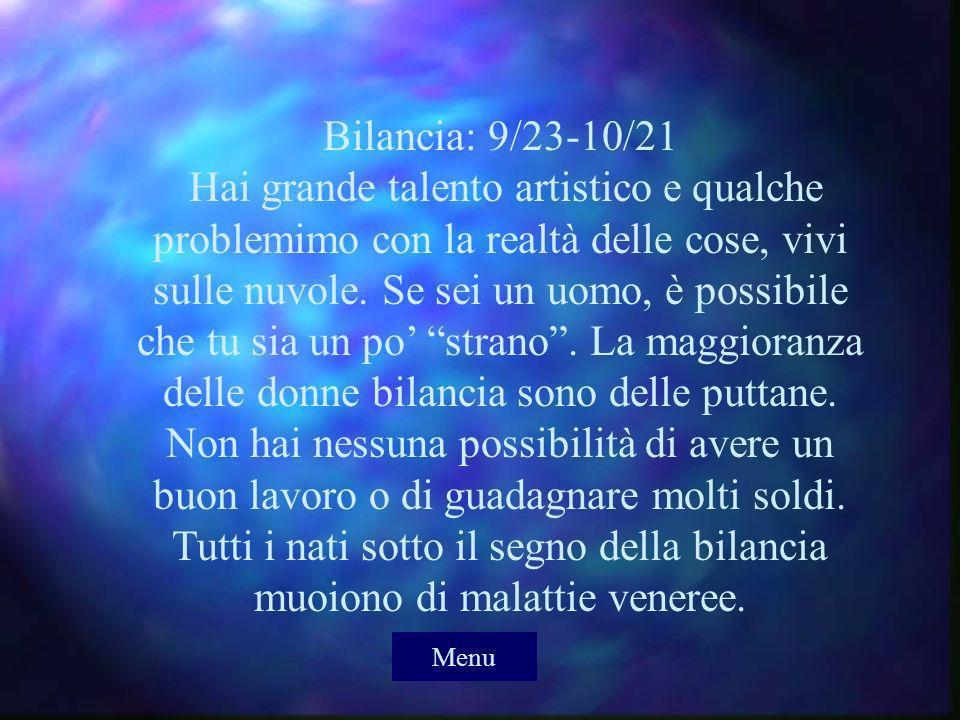 Vergine: 8/23-9/22 Sei una persona organizzata e non sopporti il disordine.