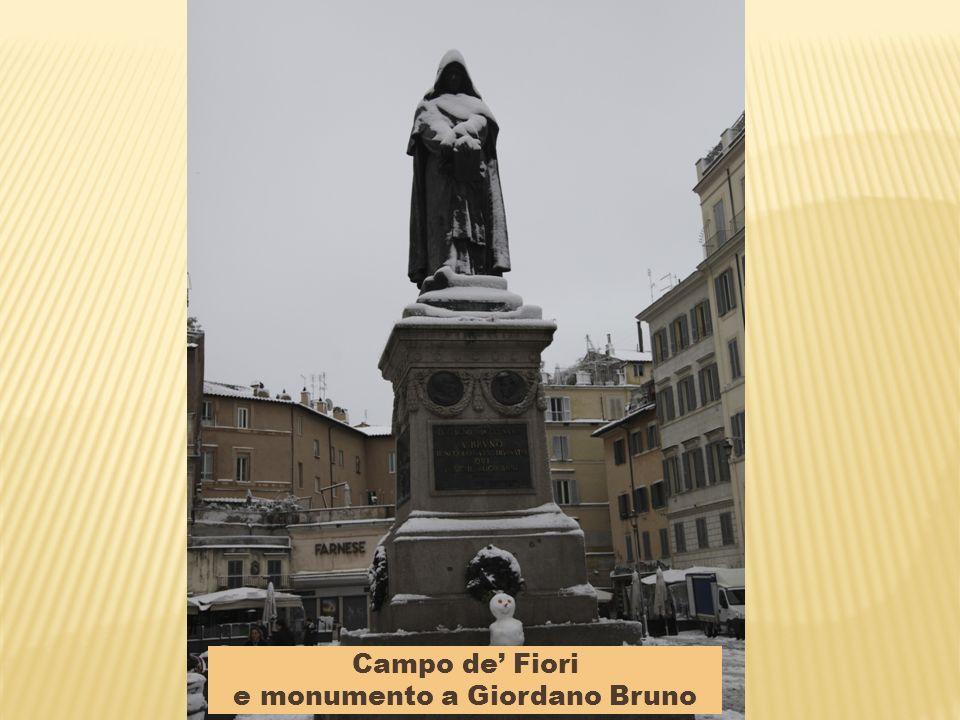 Campidoglio e monumento a Marco Aurelio