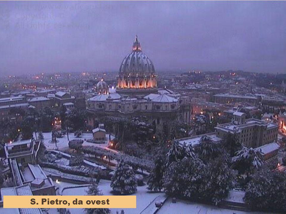 NOTTURNO ROMANO con neve