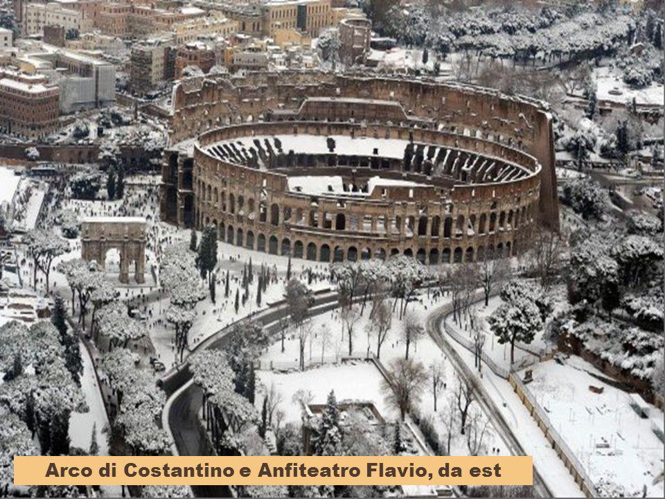 Arco di Costantino e Anfiteatro Flavio, da est