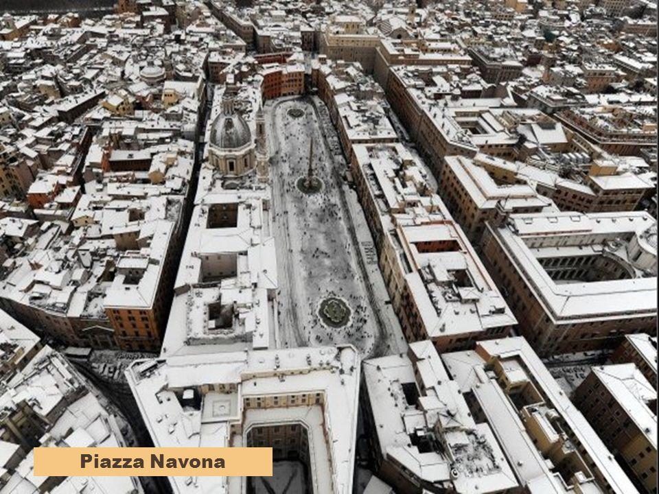 Piazza del Popolo, da nord