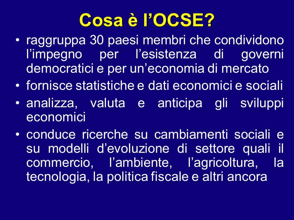 Cosa è lOCSE.