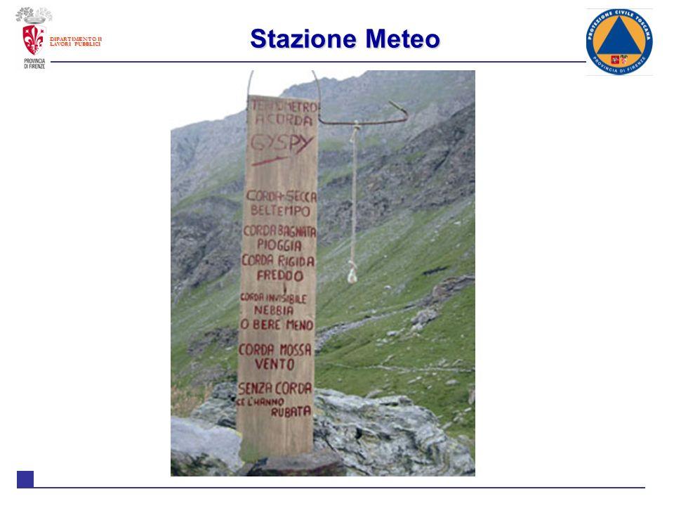 DIPARTIMENTO II LAVORI PUBBLICI Il meteo in Toscana Il Sistema meteo in Toscana