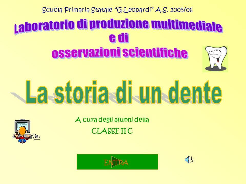 Scuola Primaria Statale G.Leopardi A.S. 2005/06 A cura degli alunni della CLASSE II C ENTRA