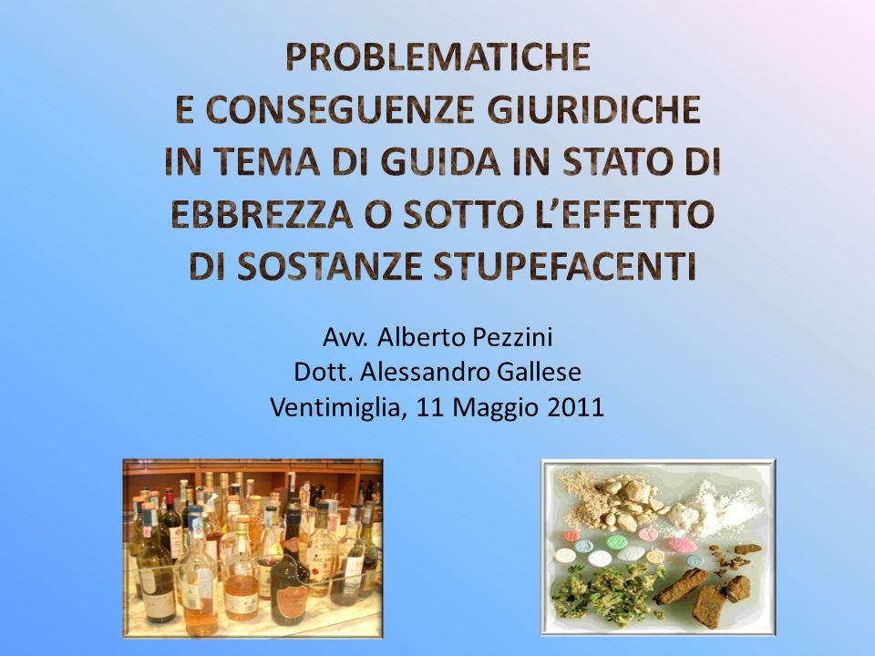 Avv. Alberto Pezzini Dott. Alessandro Gallese Ventimiglia, 11 Maggio 2011