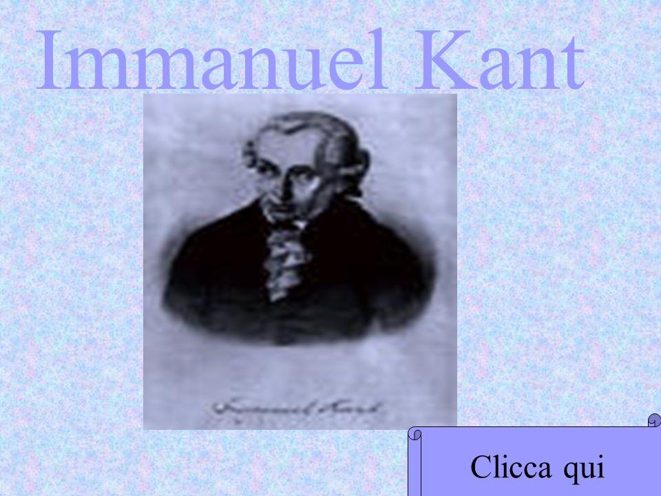 Immanuel Kant Clicca qui