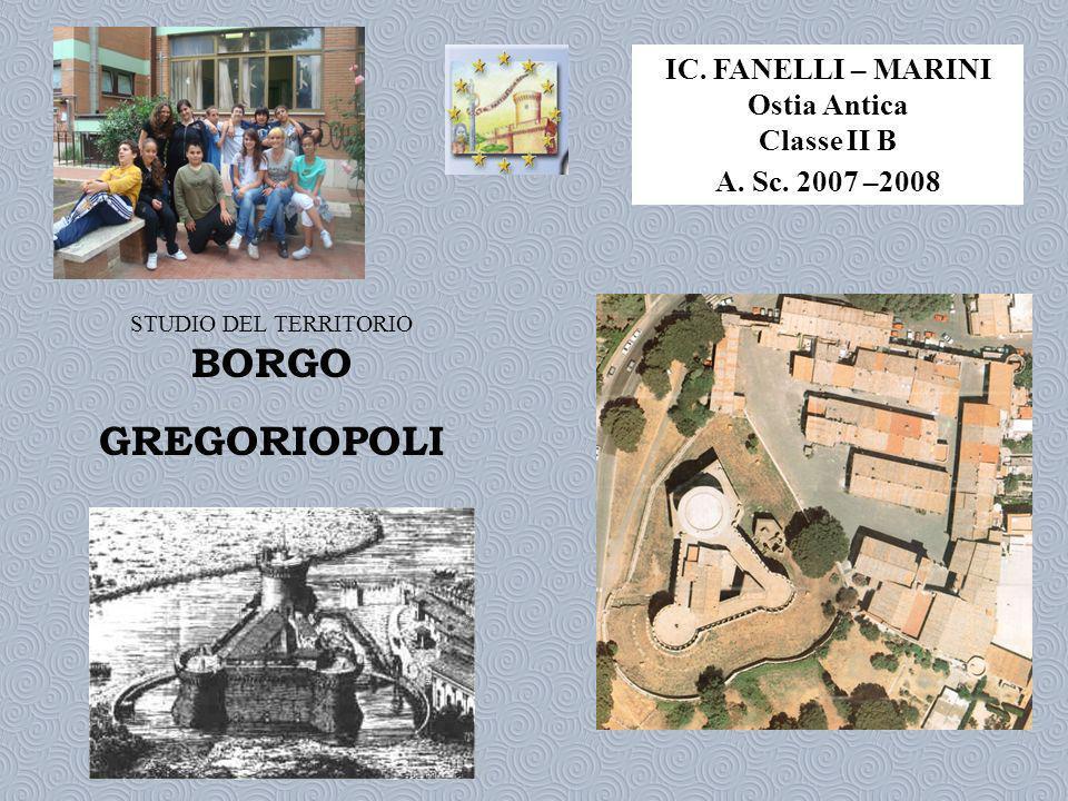 IC.FANELLI – MARINI Ostia Antica Classe II B A. Sc.