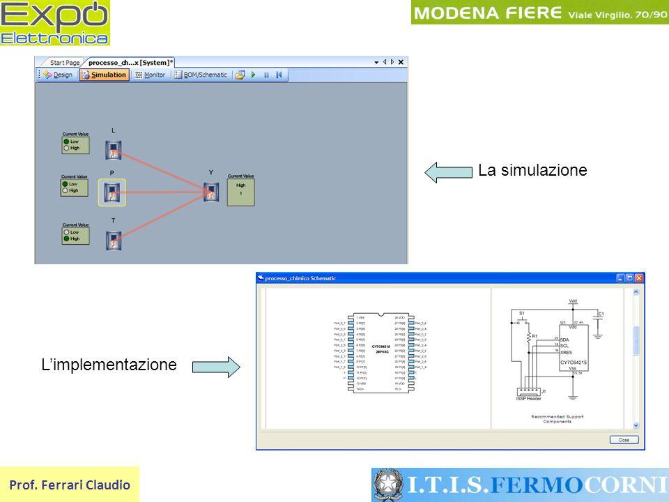 Prof. Ferrari Claudio La simulazione Limplementazione