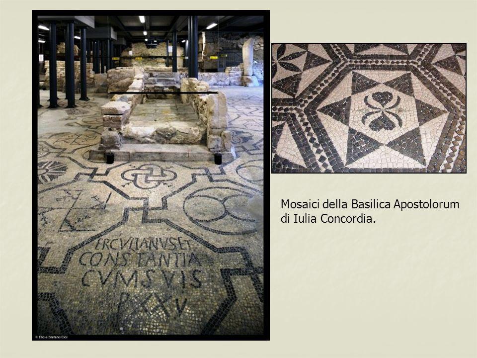 Mosaici della Basilica Apostolorum di Iulia Concordia.