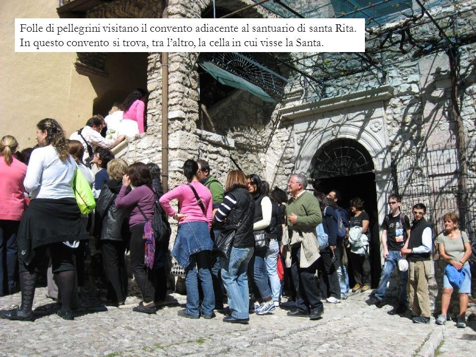 Cascia - Santuario di santa Rita È stato consacrato nel 1947