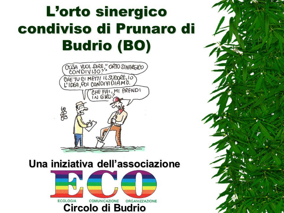 Lorto sinergico condiviso di Prunaro di Budrio (BO) Una iniziativa dellassociazione Circolo di Budrio
