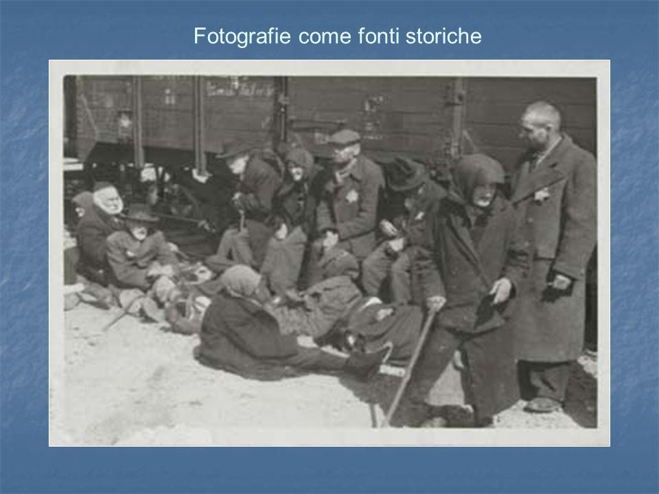 Fotografie come fonti storiche