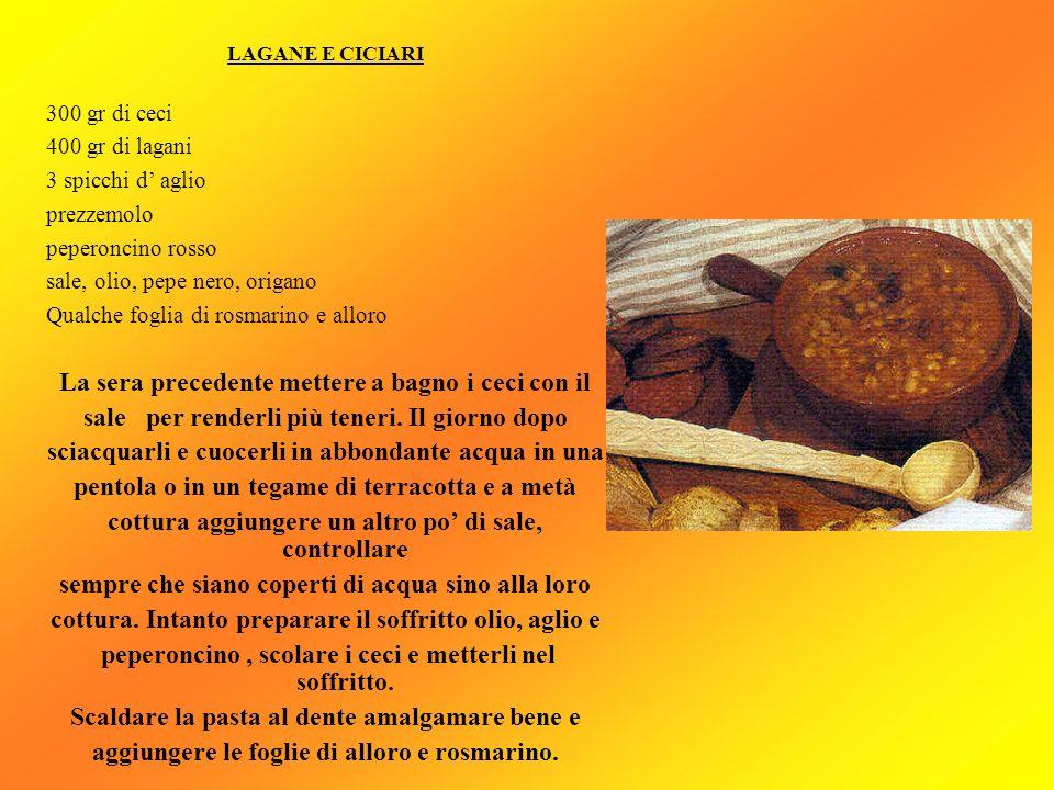 PASTA ALLA MULLICA (Piatto tipico della vigilia di natale) 450 gr di spaghetti 60 gr di filetti di alici olio d oliva q.