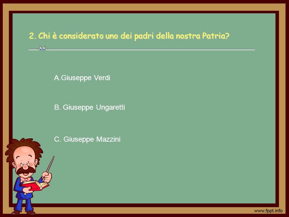 9.Chi era Camillo Benso conte di Cavour. C.