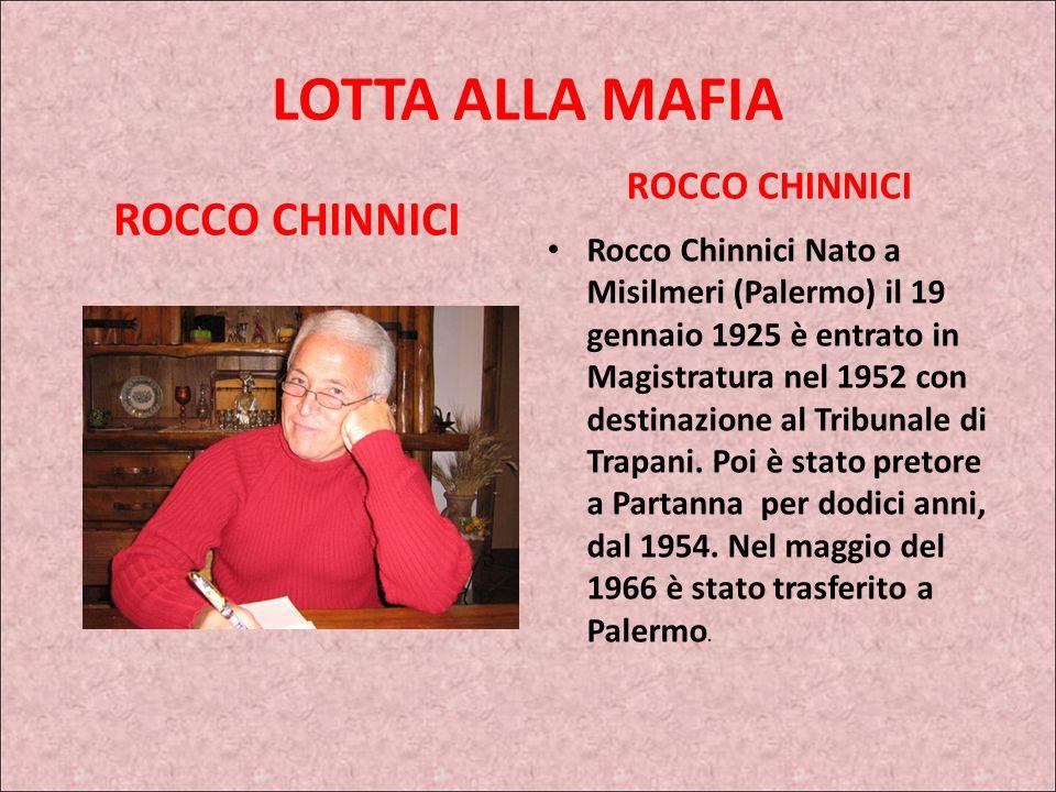 IL POOL ANTIMAFIA Ma nel 1983 anche Rocco Chinnici viene assassinato dai mafiosi. Sembra la fine di un'esperienza che stava dando qualche risultato. A