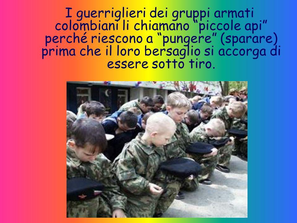 Imbracciano il fucile per vendicare il padre o i fratelli morti o, più spesso, semplicemente per avere un pasto garantito ogni giorno.