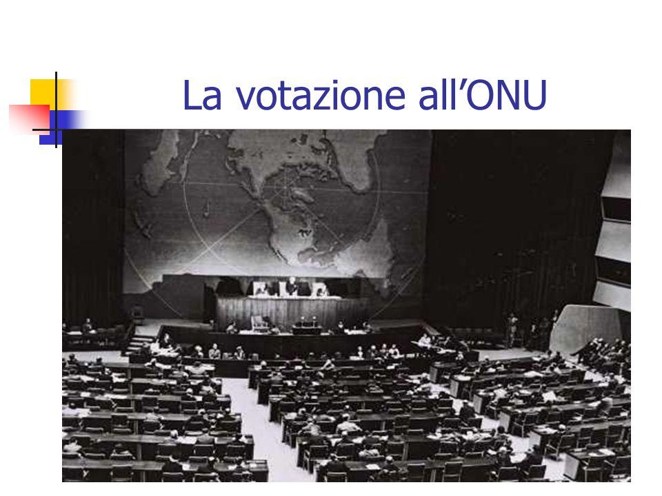 La votazione allONU