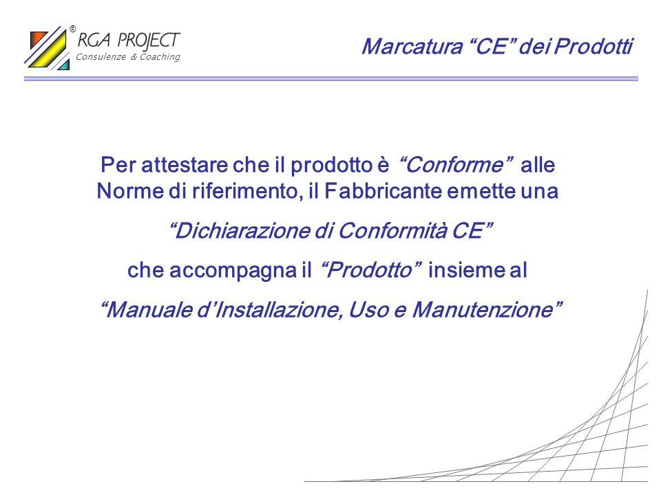 Per attestare che il prodotto è Conforme alle Norme di riferimento, il Fabbricante emette una Dichiarazione di Conformità CE che accompagna il Prodott