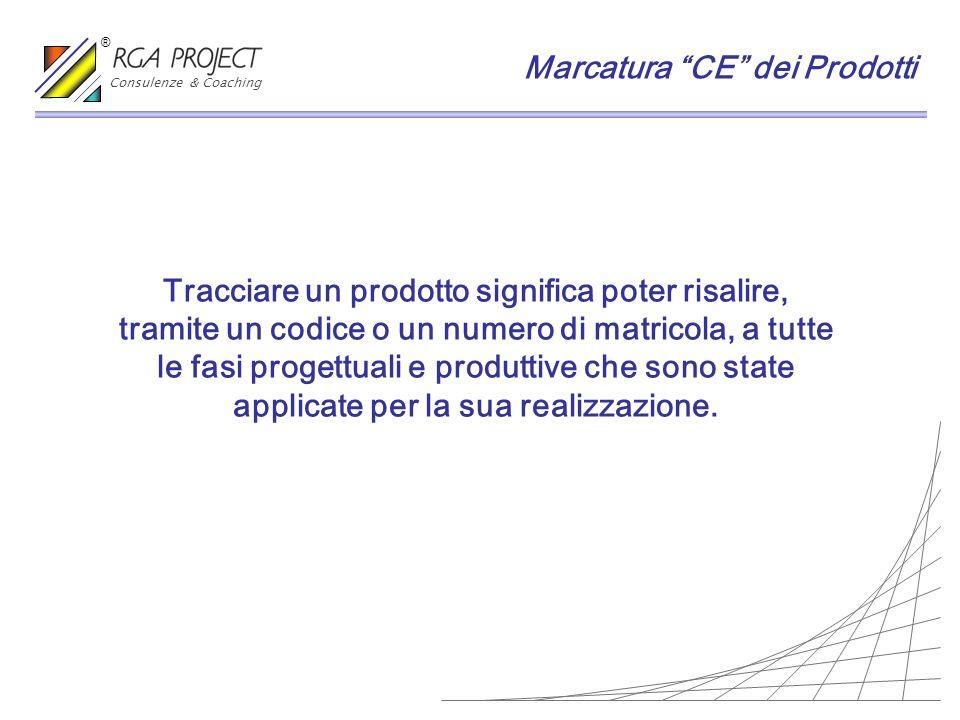 Tracciare un prodotto significa poter risalire, tramite un codice o un numero di matricola, a tutte le fasi progettuali e produttive che sono state ap