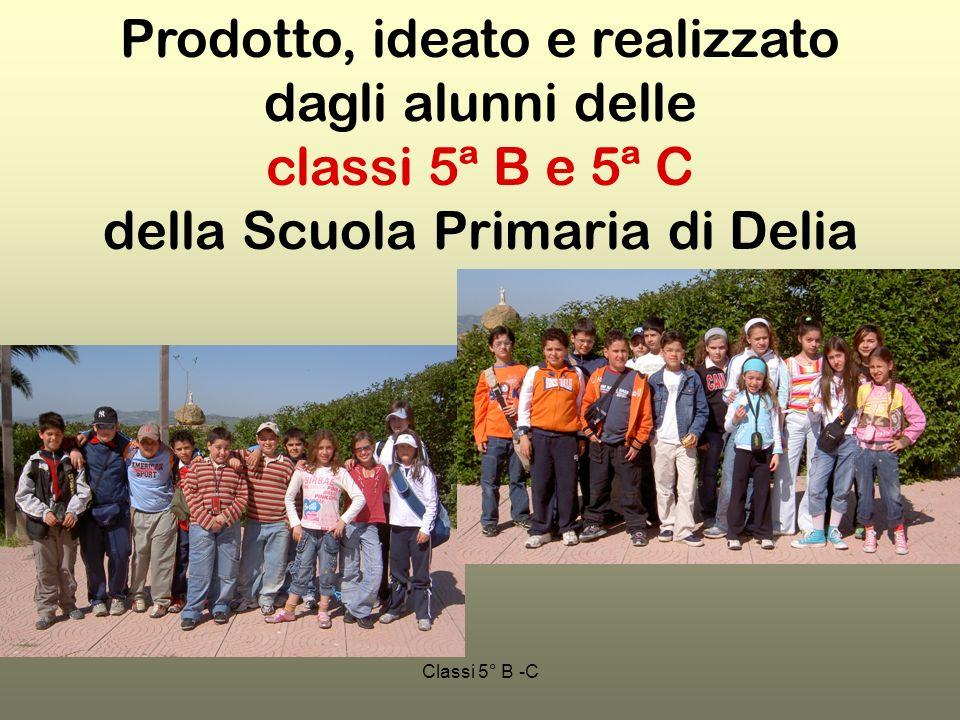 Classi 5° B -C Prodotto, ideato e realizzato dagli alunni delle classi 5ª B e 5ª C della Scuola Primaria di Delia