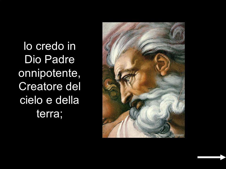 Gloria al Padre e al Figlio e allo Spirito Santo, come era in principio, e ora e sempre nei secoli dei secoli.