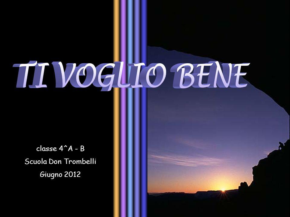 classe 4^A - B Scuola Don Trombelli Giugno 2012