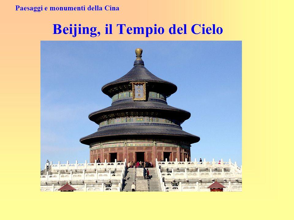 Paesaggi e monumenti della Cina Beijing, il Tempio del Cielo