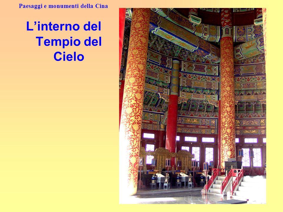 Paesaggi e monumenti della Cina Linterno del Tempio del Cielo