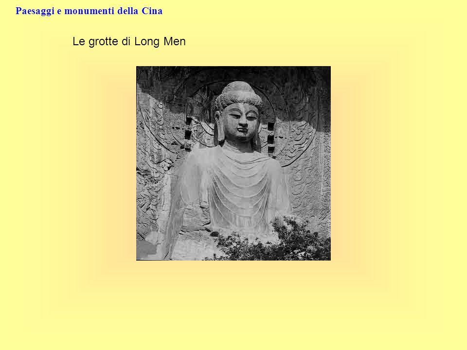 Paesaggi e monumenti della Cina Le grotte di Long Men