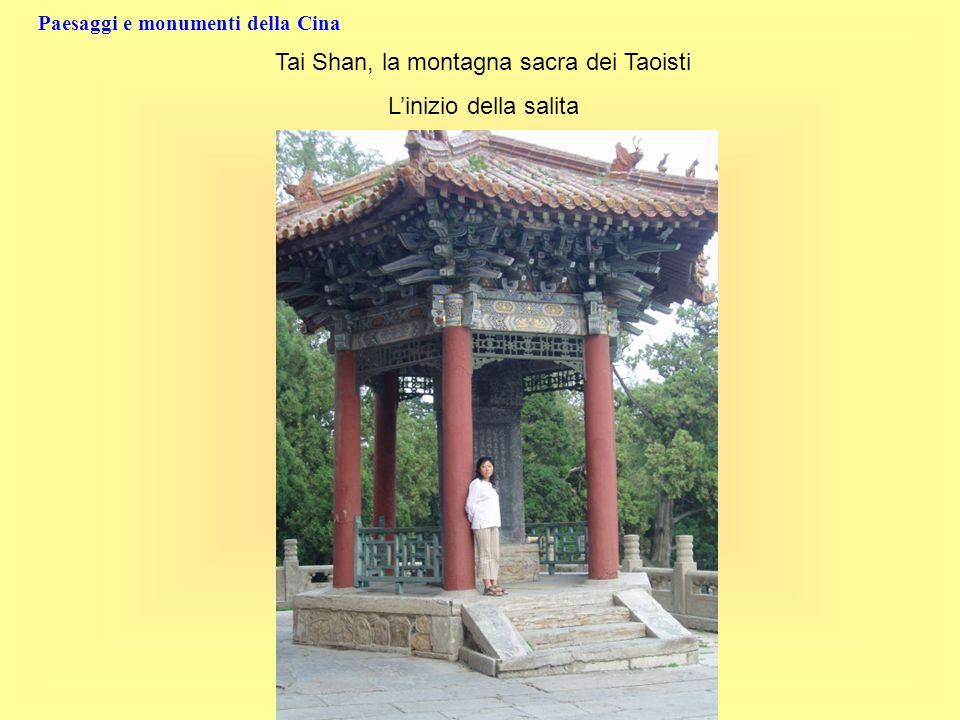 Tai Shan, la montagna sacra dei Taoisti Linizio della salita
