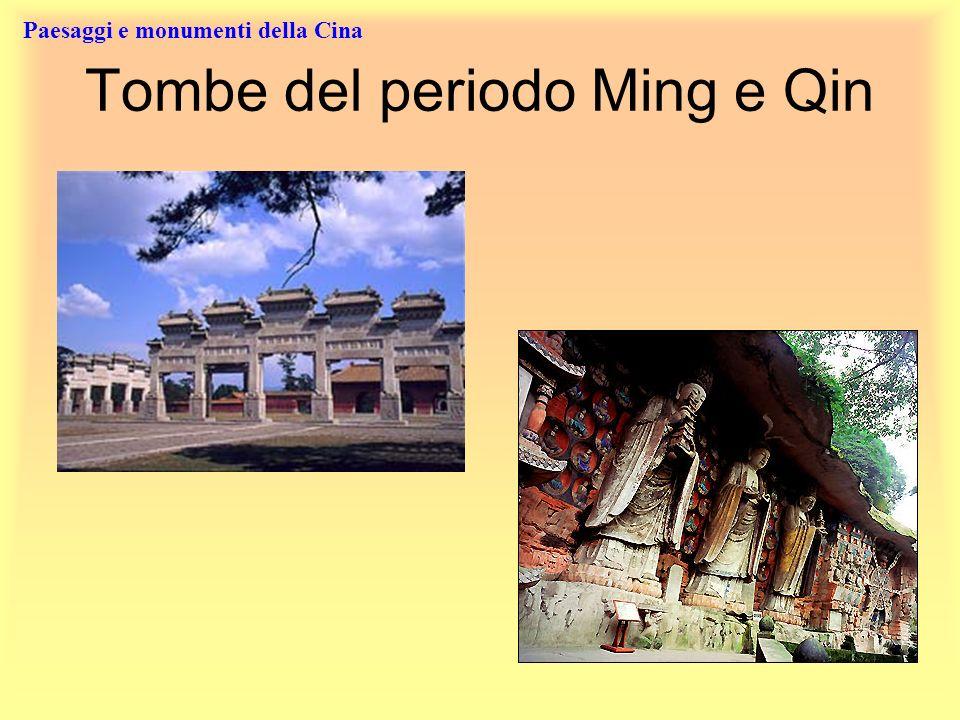 Paesaggi e monumenti della Cina Tombe del periodo Ming e Qin