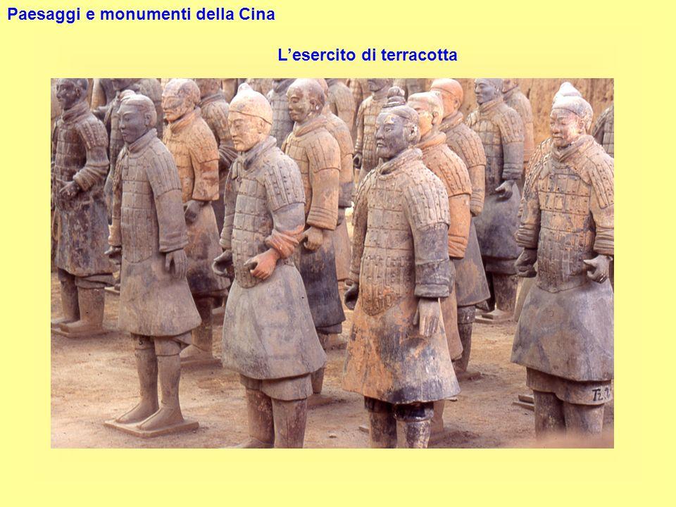 Paesaggi e monumenti della Cina Lesercito di terracotta