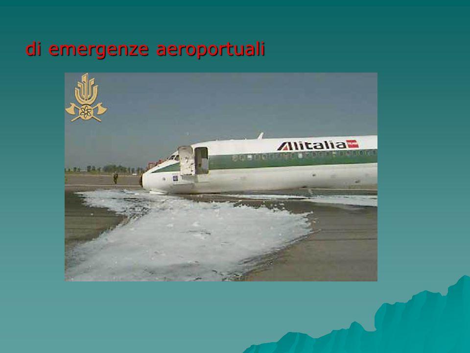 di emergenze aeroportuali