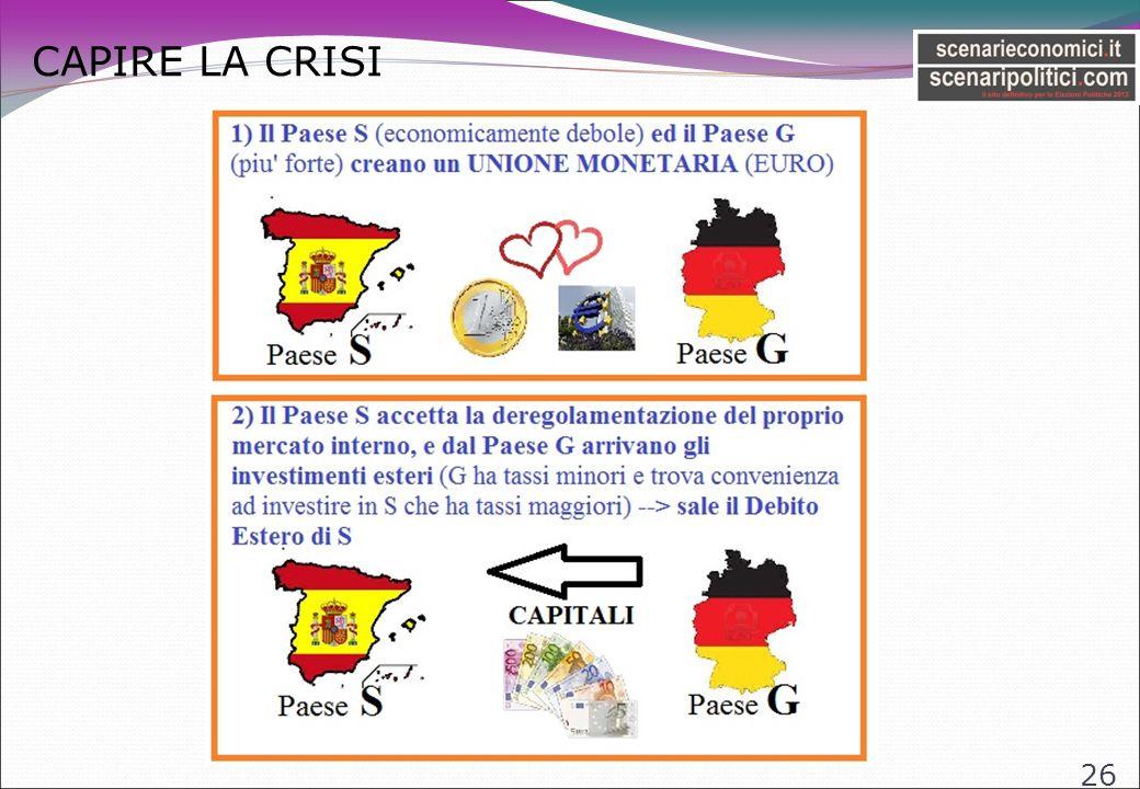 CAPIRE LA CRISI 26