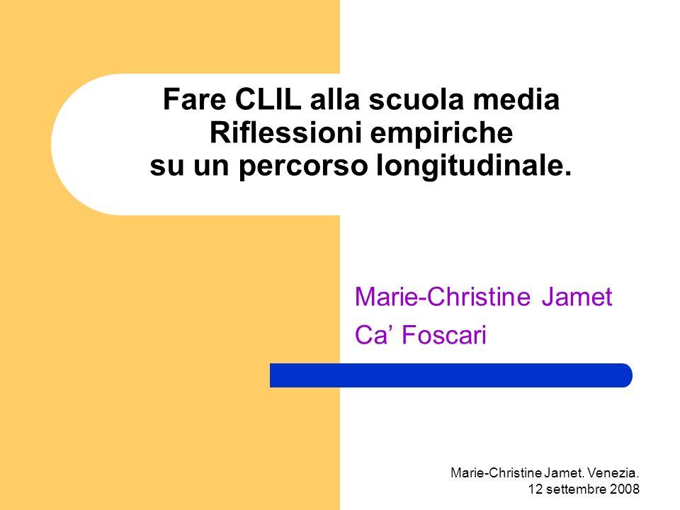 Marie-Christine Jamet.Venezia. 12 settembre 2008 La produzione orale...