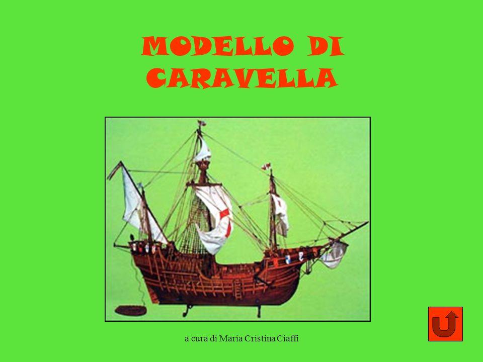 a cura di Maria Cristina Ciaffi MODELLO DI CARAVELLA