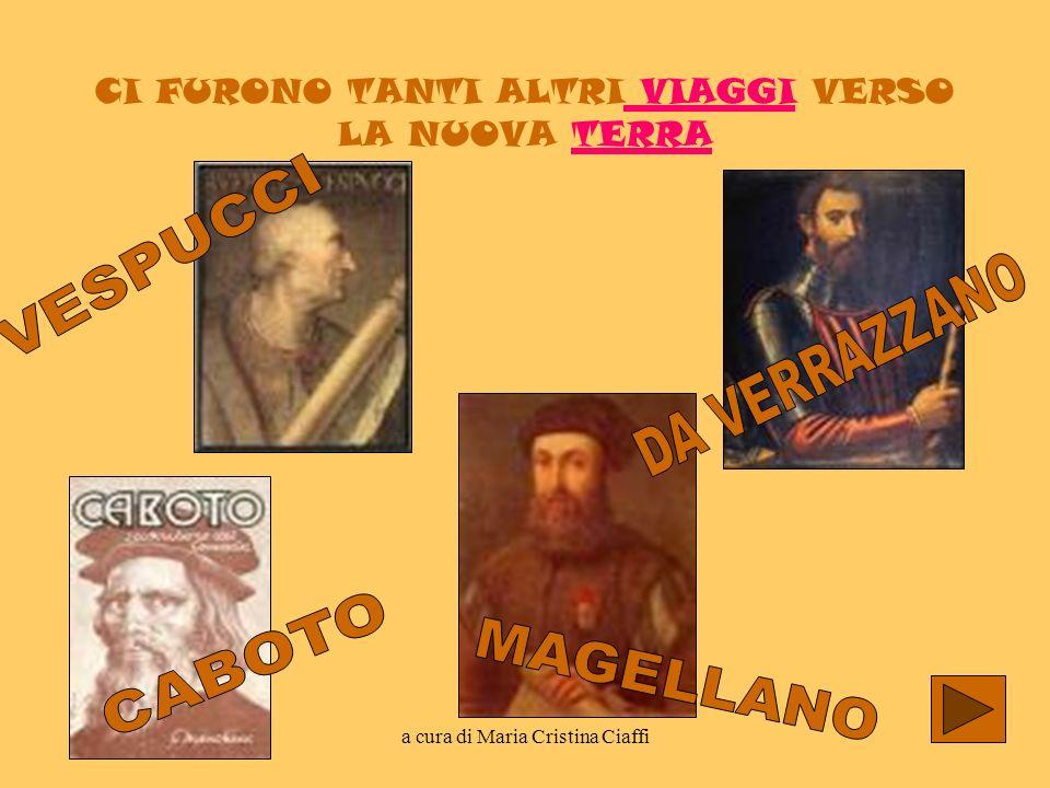a cura di Maria Cristina Ciaffi BIOGRAFIA Cristoforo Colombo è stato un navigatore ed esploratore italiano.