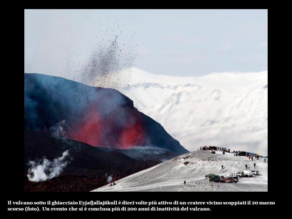 Nel sud-est dell Islanda, la visibilità in posti inferiore a 150 metri nella mattinata di Giovedi.