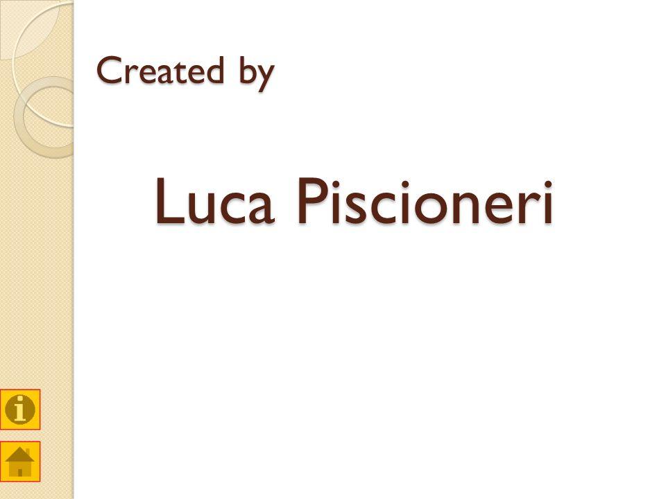 Created by Luca Piscioneri