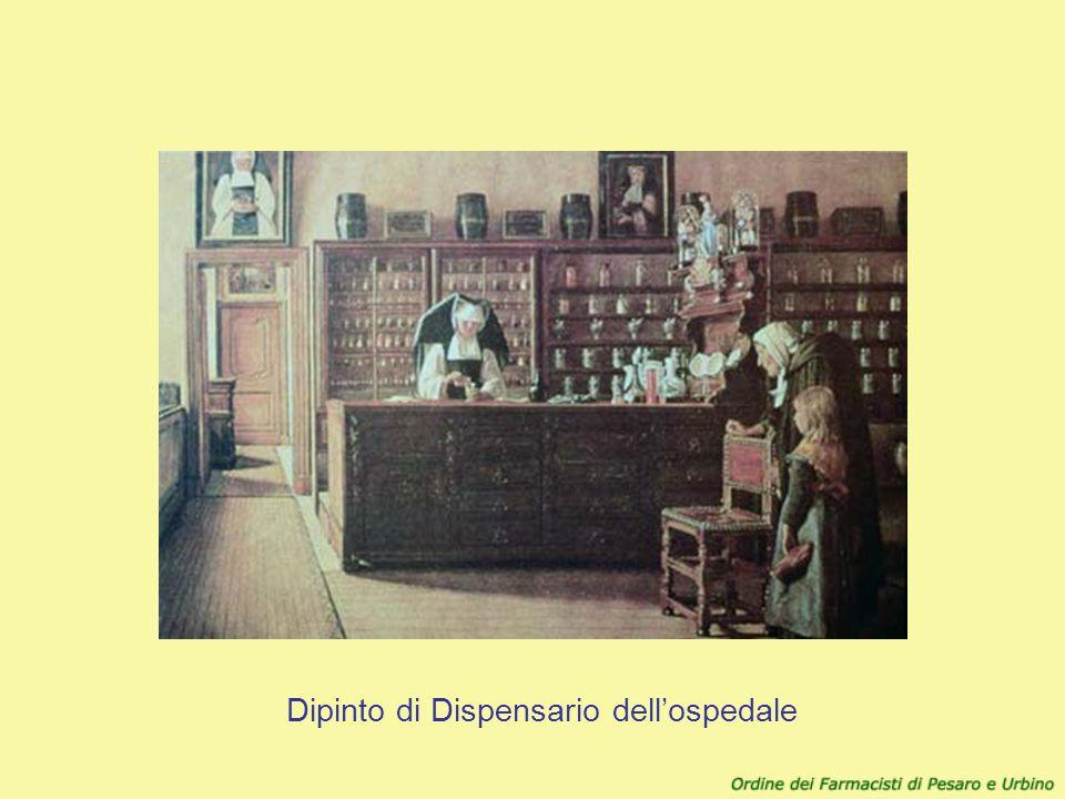 Dipinto di Dispensario dellospedale